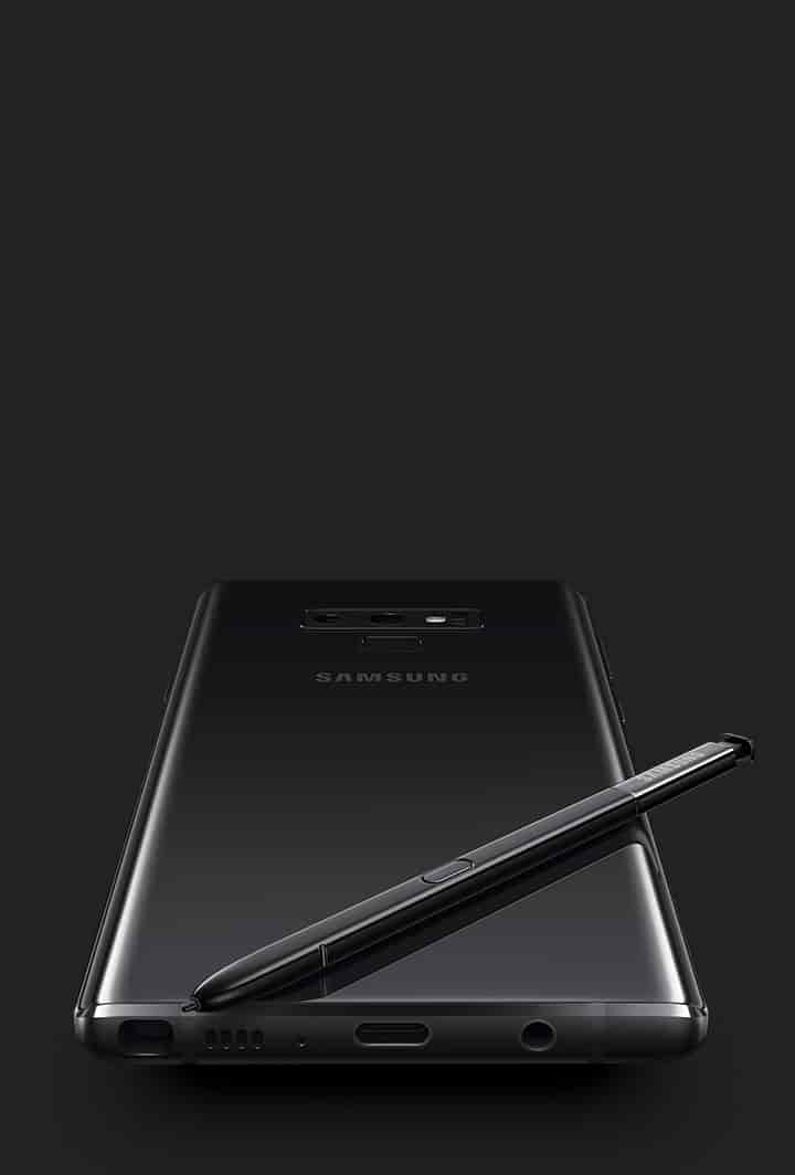 Galaxy Note9 now available in Midnight Black and Cloud Silver