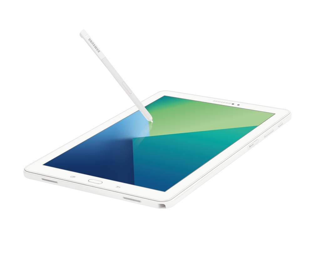 "Galaxy Tab A 10.1"", 16GB, White (Wi-Fi) S Pen included"