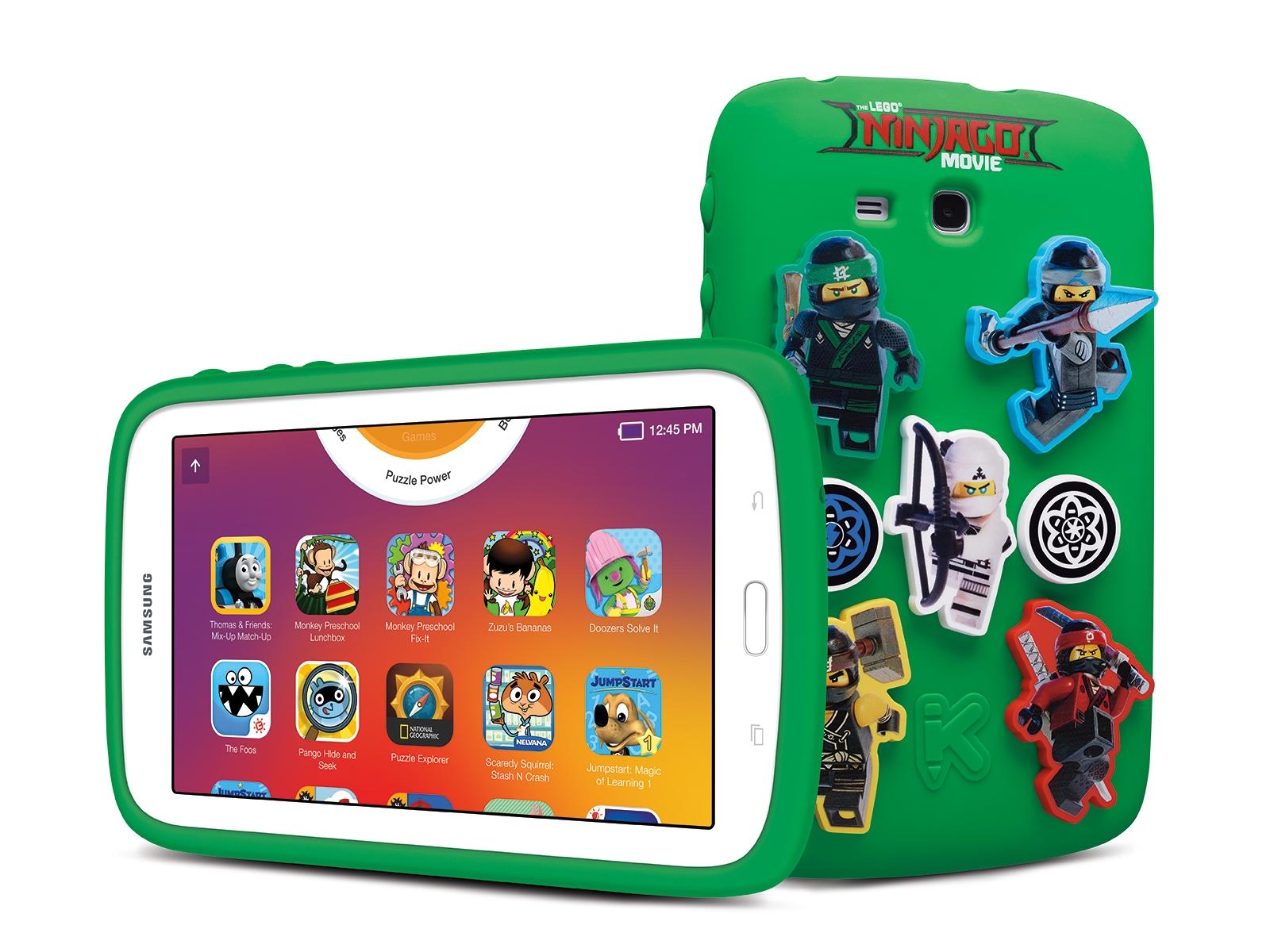 "Galaxy Kids Tablet 7.0"" THE LEGO® NINJAGO® MOVIE Edition Tablets -  SM-T113NDWNCCC   Samsung US"