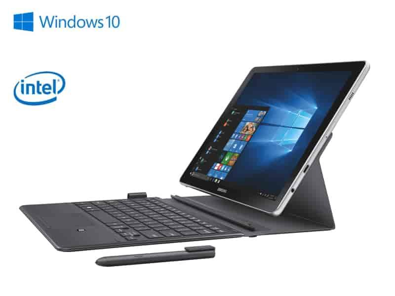 "Galaxy Book 10.6"" 2-in-1 PC (Wi-Fi), Silver (Windows 10 Home/ 4GB/64GB)"