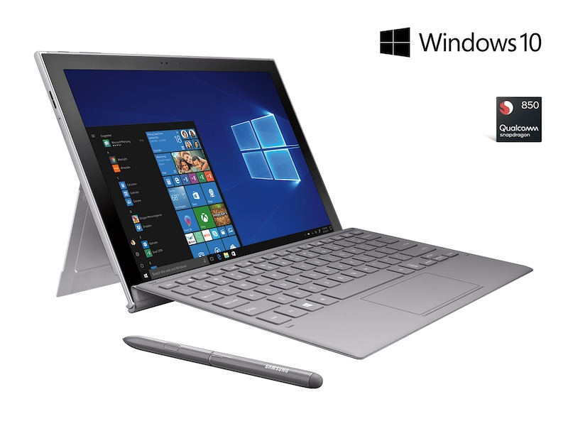 Galaxy Book2 12 128gb Silver At T S Pen And Keyboard Included