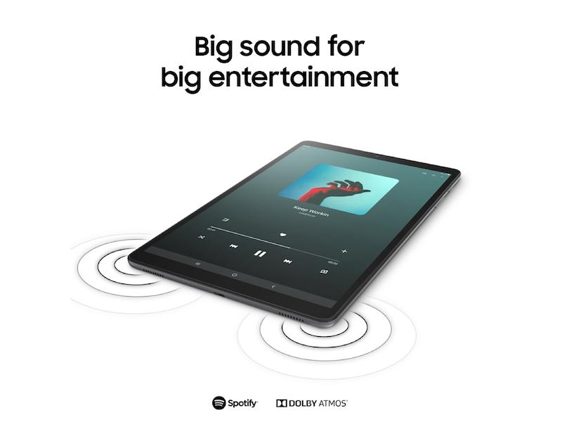 Galaxy Tab A 10 1 (2019), 32GB, Silver (Wi-Fi)