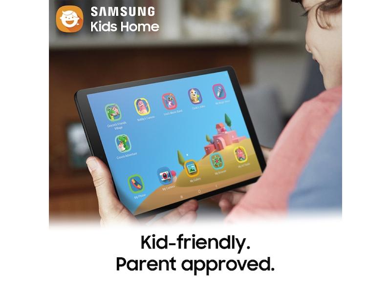 Galaxy Tab A 10 1 (2019), 32GB, Black (Wi-Fi)