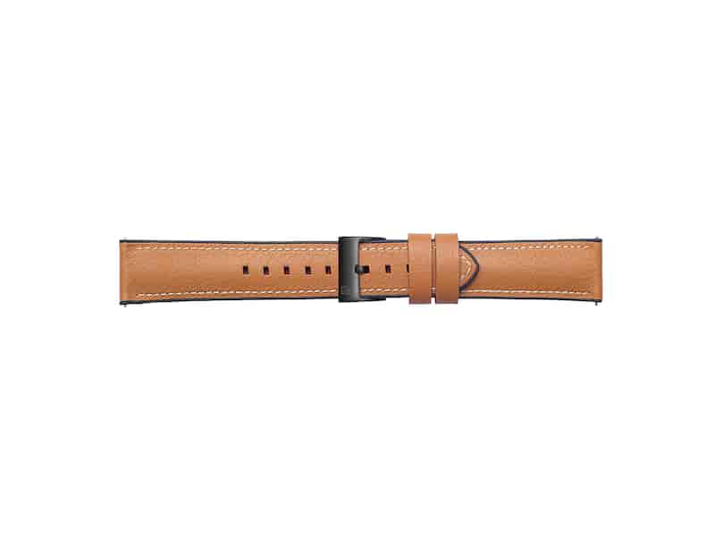 Urban Traveller Leather Band for Galaxy Watch 46mm & Gear S3, Tan