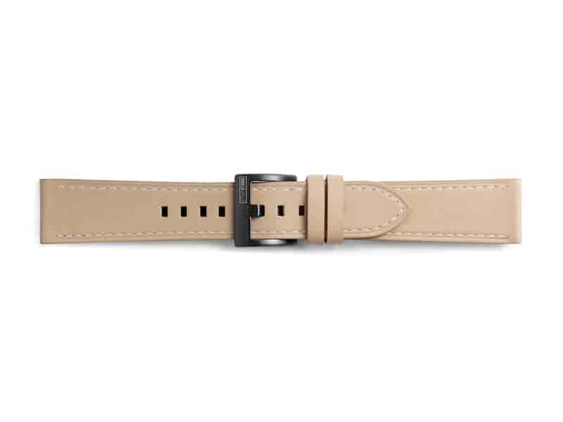 Classic Leather Band for Galaxy Watch 42mm & Gear Sport, Beige