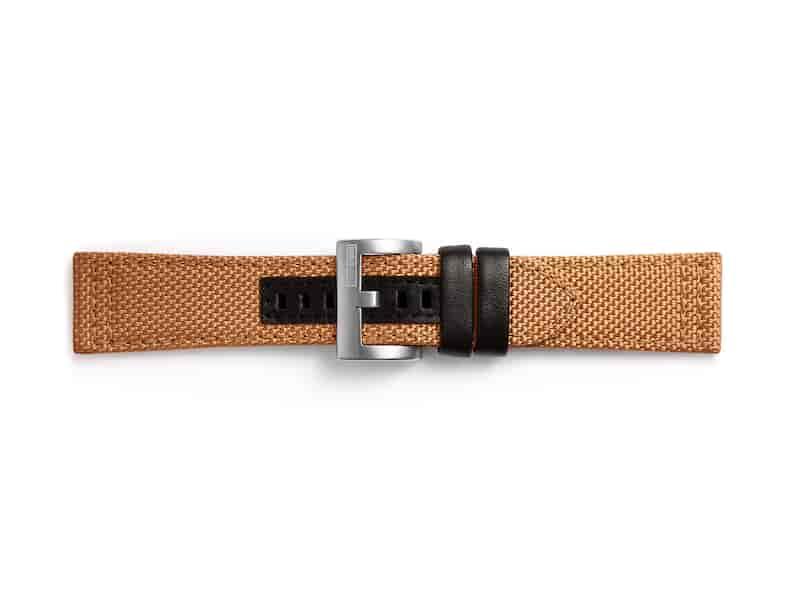 Kvadrat Textil Band for Galaxy Watch 46mm & Gear S3, Orange
