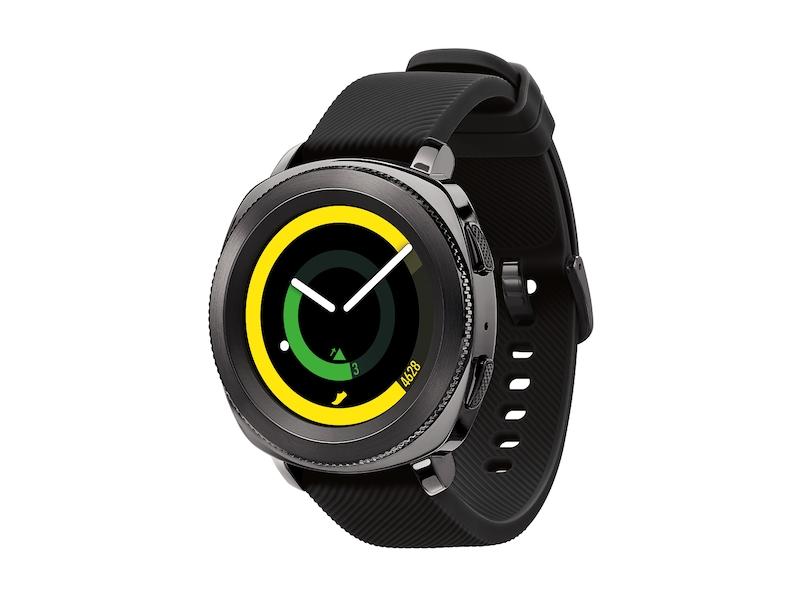 e9c4fdfe Gear Sport 42mm smartwatch (Bluetooth), Black