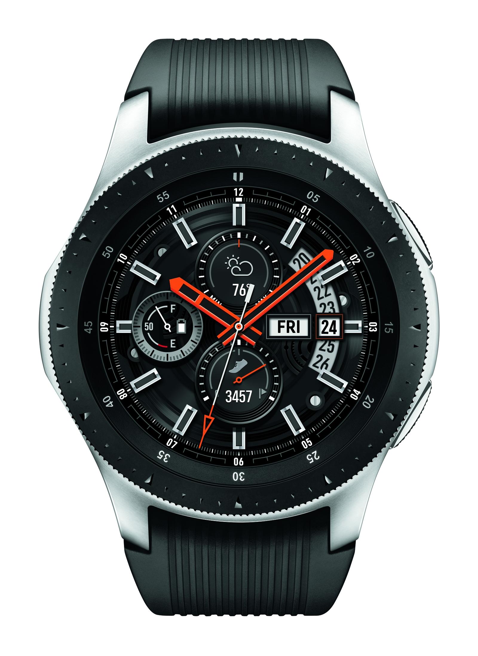 Silver Samsung Galaxy Watch - 46mm LTE | Samsung US