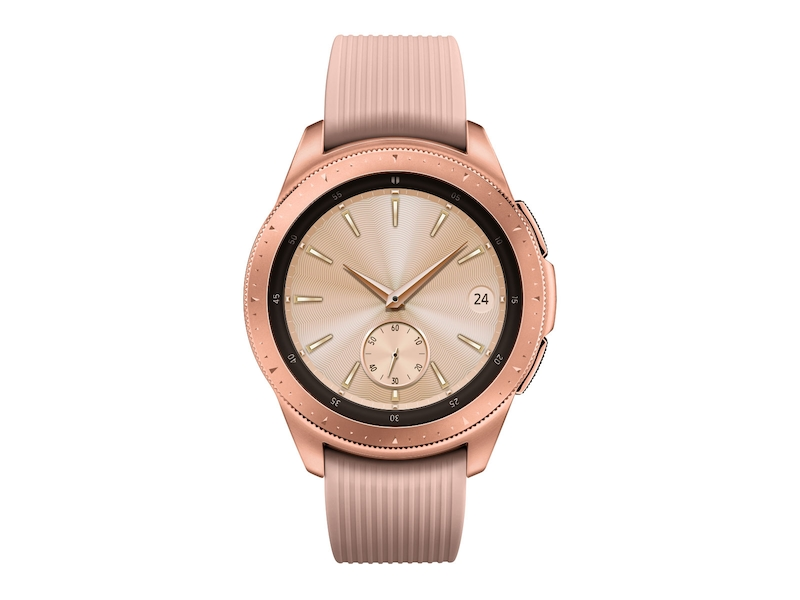 146183e4faa Rose Gold Samsung Galaxy Watch - 42mm Bluetooth | Samsung US