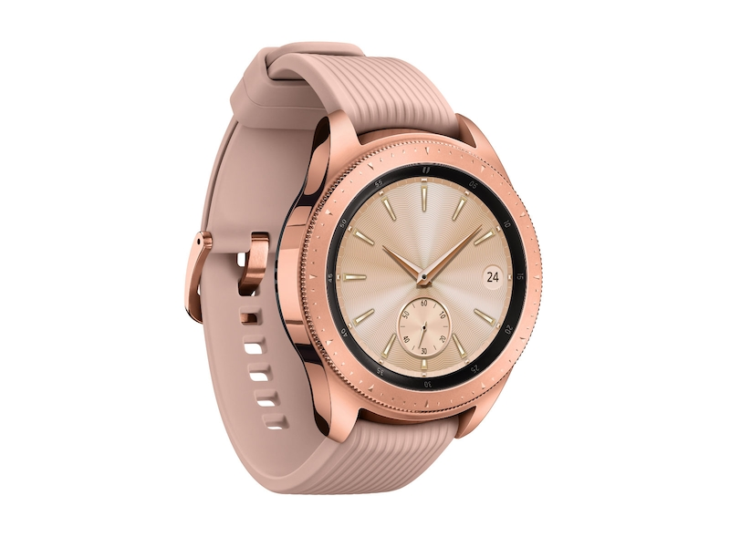 Rose Gold Samsung Galaxy Watch - 42mm Bluetooth  24355ffbea2