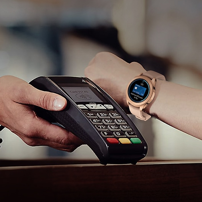 Pay with your watch.