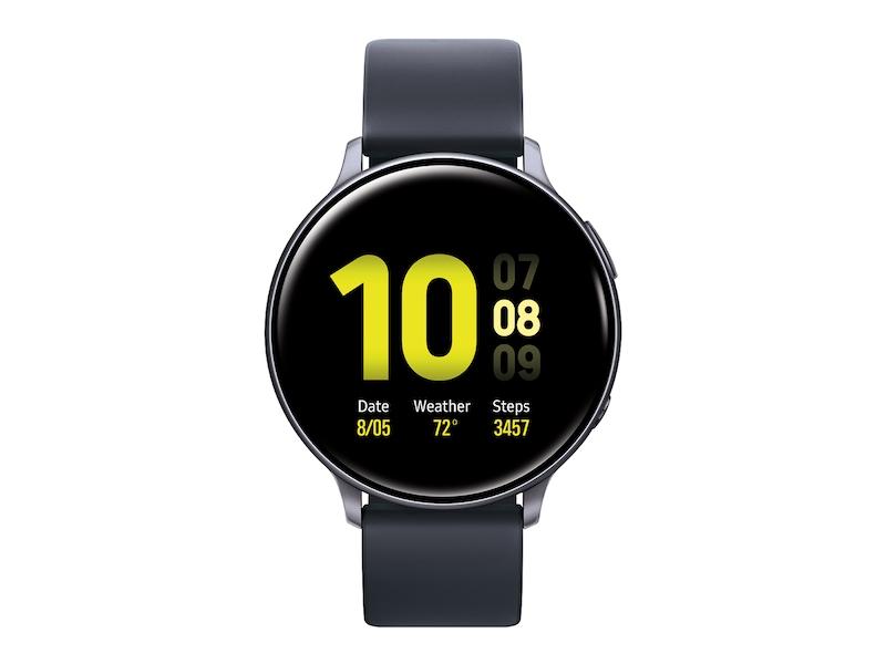 Galaxy Watch Active2 (44mm), Aqua Black (Bluetooth) Wearables - SM