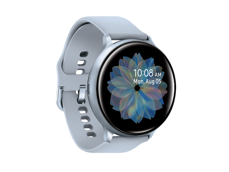 Galaxy Watch Active2 (44mm), Cloud Silver (Bluetooth) Wearables ...