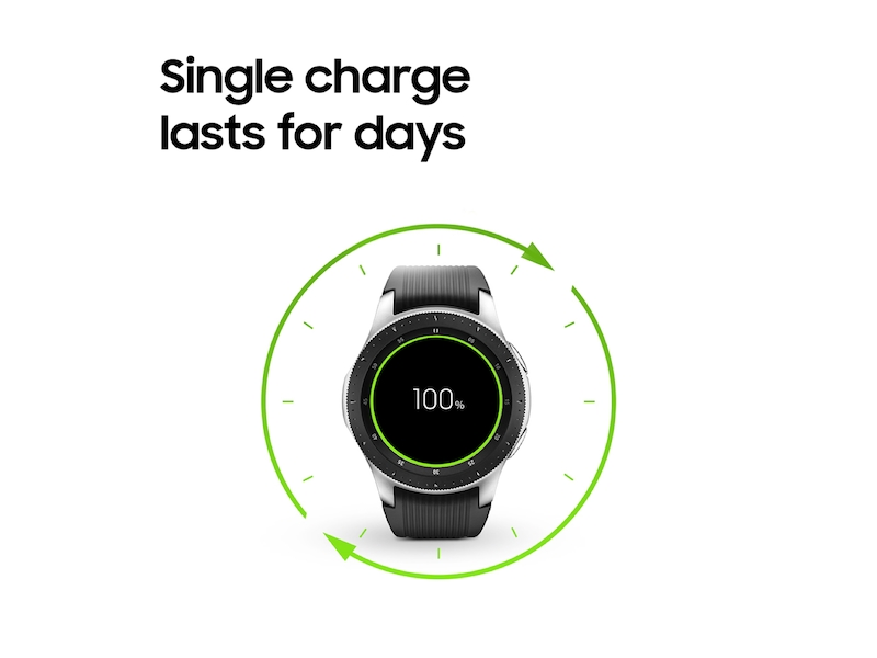 aaab74029c50 Silver Samsung Galaxy Watch - 46mm LTE | Samsung US