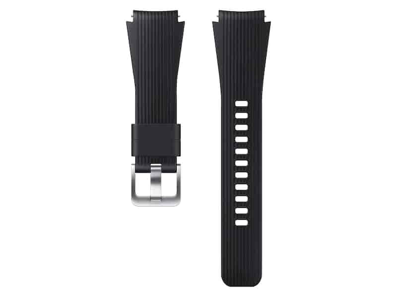 Silicone Band for Galaxy Watch 46mm, Black