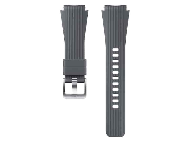 Silicone Band for Galaxy Watch 46mm, Gray