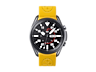 Thumbnail image of Pittsburgh Steelers Debossed Silicone Watch Band (22mm) Gold