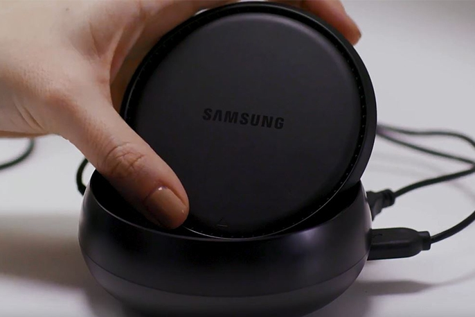 Setting Up the Samsung DeX Station