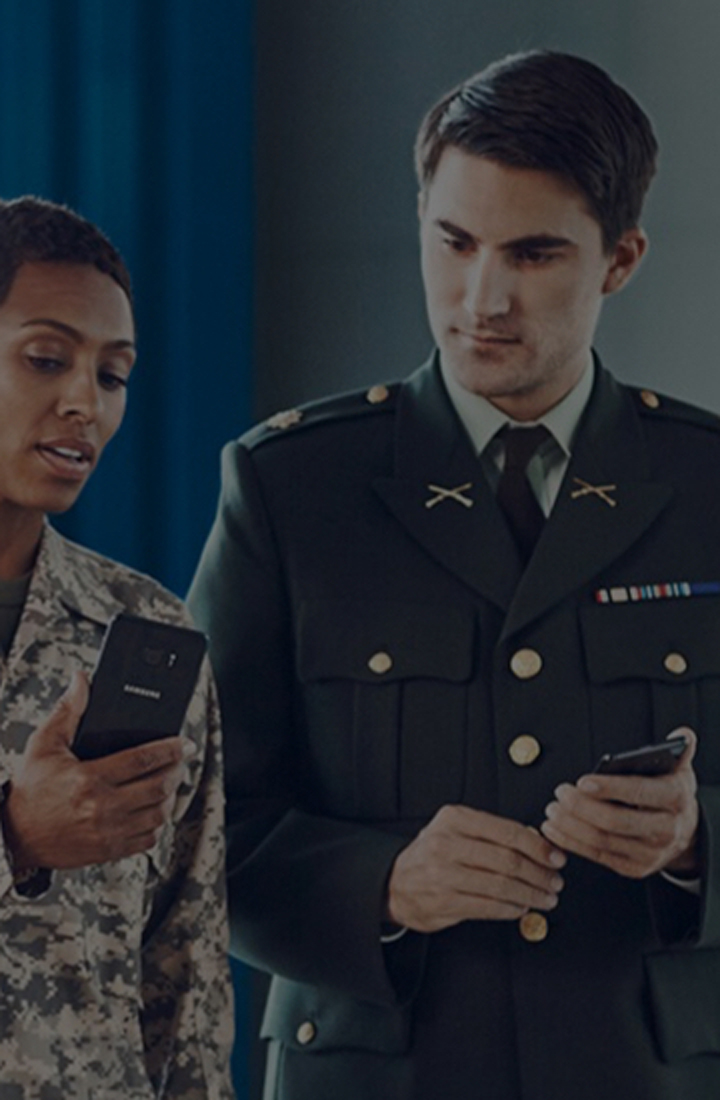 Your service has benefits: Join the Samsung Military Discount Program