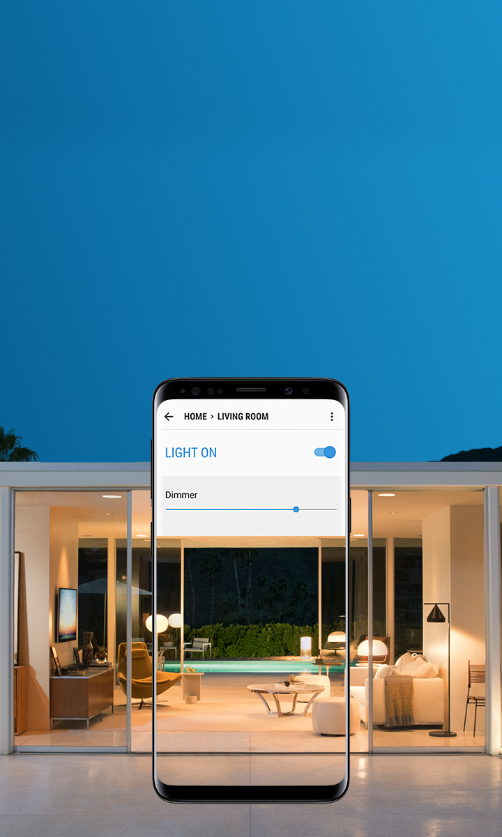 Samsung Smartthings Smart Home App For Home Automation