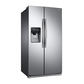 side by side refrigerators official samsung support Samsung Refrigerator RS2545SH