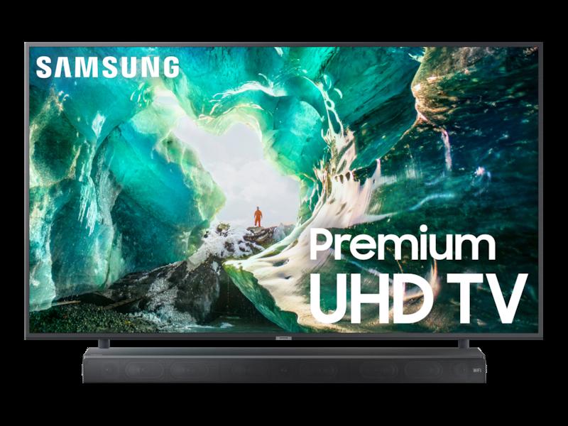 "82"" RU8000 Premium 4K UHD TV + Premium Soundbar Bundle"