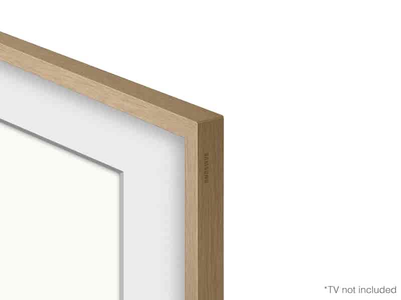 "(2021) 55"" The Frame Customizable Bezel - Modern Teak"
