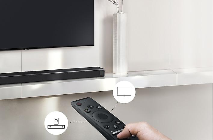 2020 Soundbar HW Q60T Usability One remote control Q60T PC v2