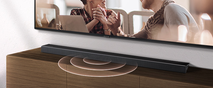 With a center channel dedicated to delivering clear dialogue, you won't miss a word.