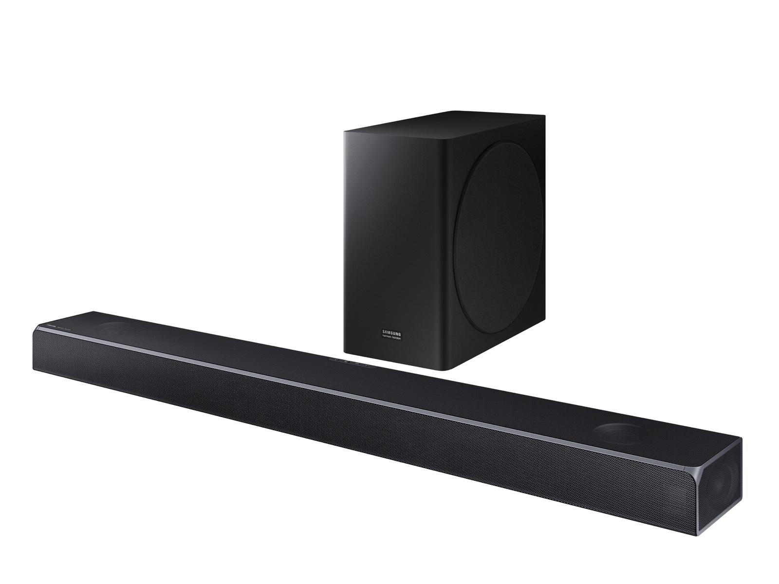 Samsung HW-Q80R 370W Virtual 5.1.2 Ch Soundbar System with Dolby Atmos and Wireless Subwoofer