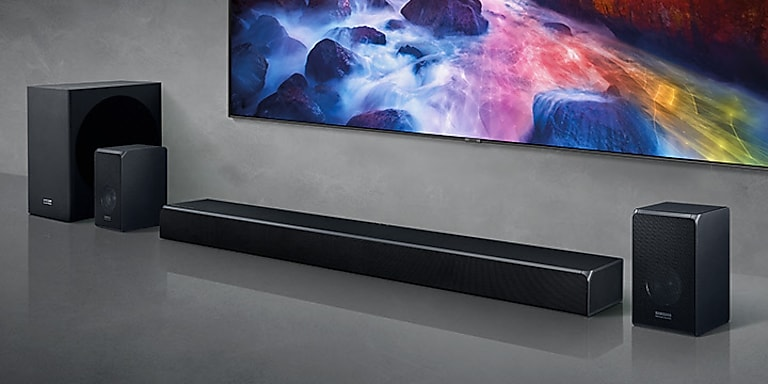 Immersive sound. Perfect for QLED.