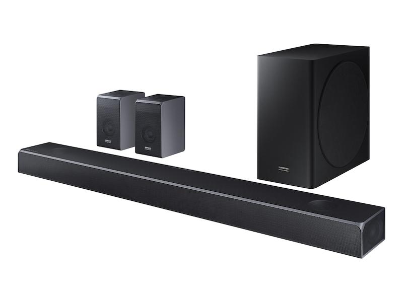 Hw Q90r Samsung Harman Kardon 7 1 4ch Soundbar With Dolby Atmos Home Theater Hw Q90r Za Samsung Us