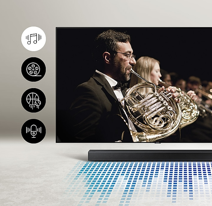 2020 Soundbar HW T450 Usability Smart Sound T450 PC