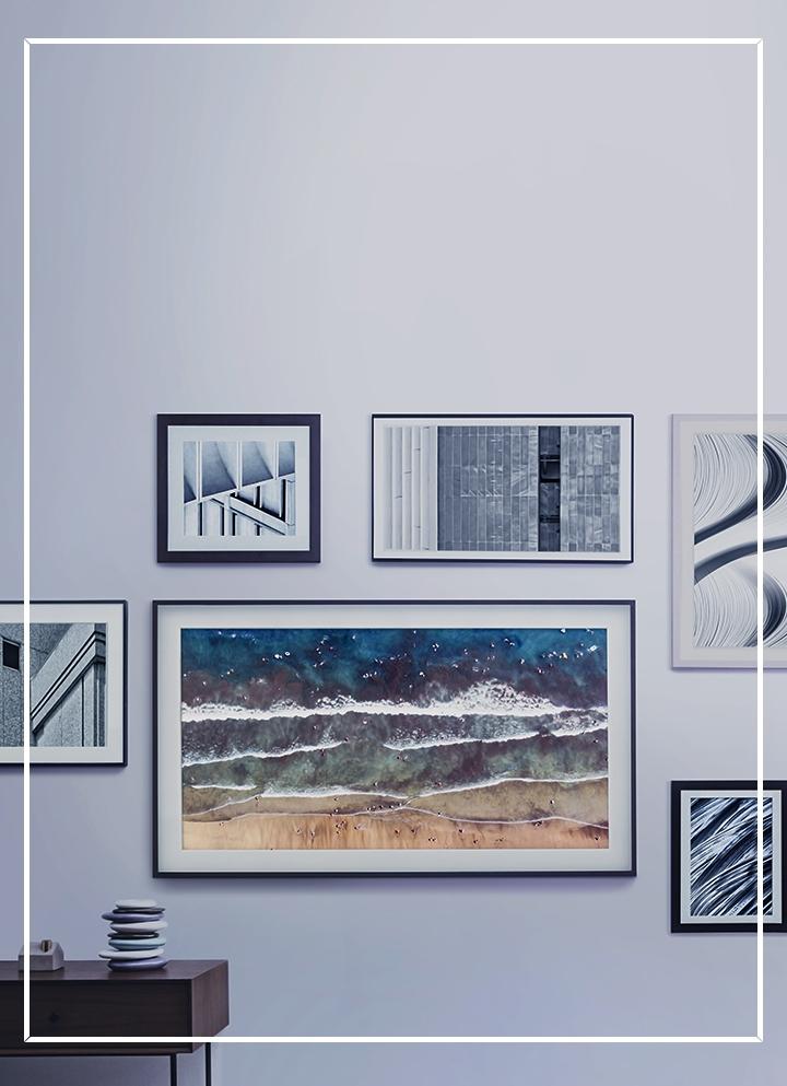 The Frame Tv Customizable Art Tv Samsung Us