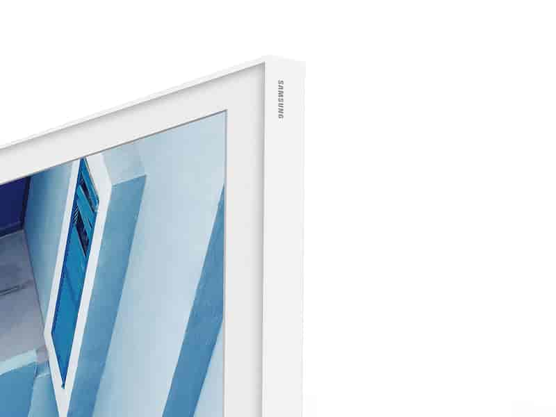 "(2020) 55"" The Frame Customizable Bezel - White"
