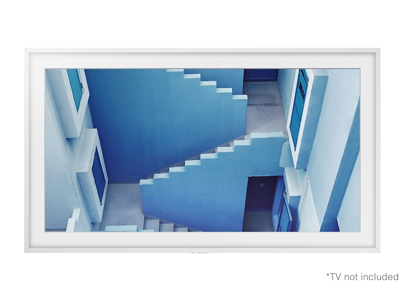 55 The Frame Customizable Bezel White Television Home Theater Accessories Vg Scfm55wm Za Samsung Us