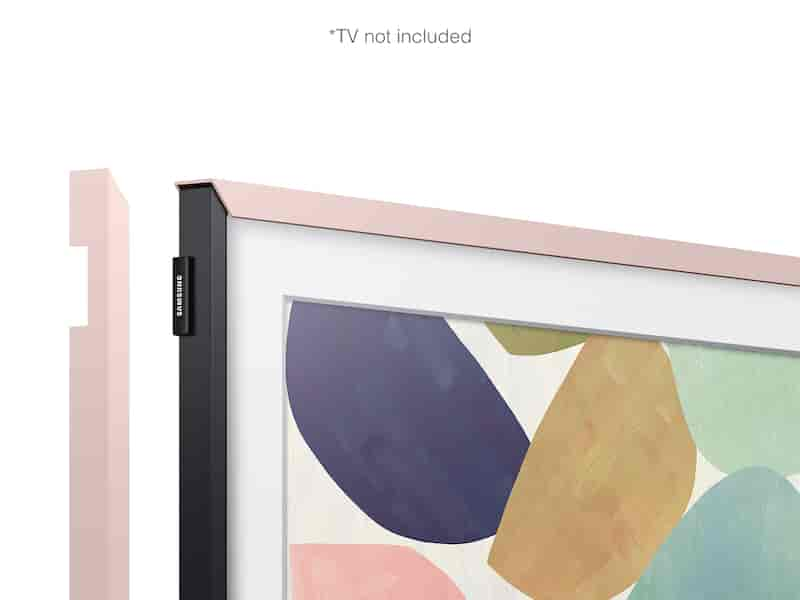 "(2020) 32"" The Frame Customizable Bezel - Natural Pink"