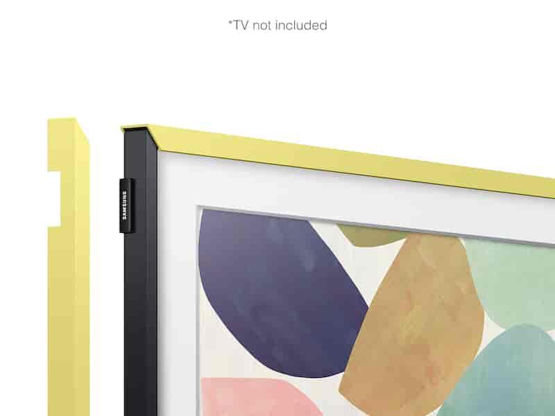 "(2020) 32"" The Frame Customizable Bezel - Vivid Lemon"