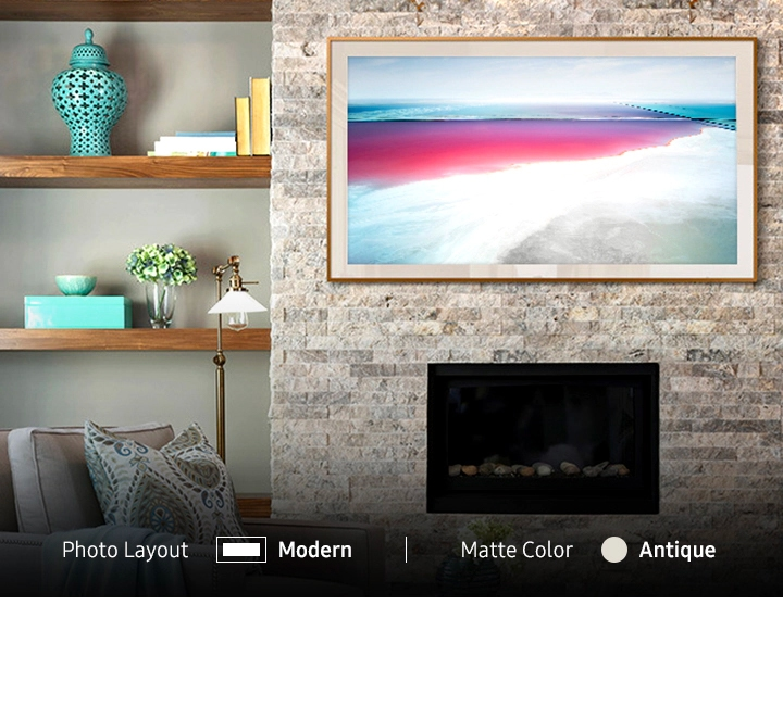 The Frame TV – Art Mode | Samsung US