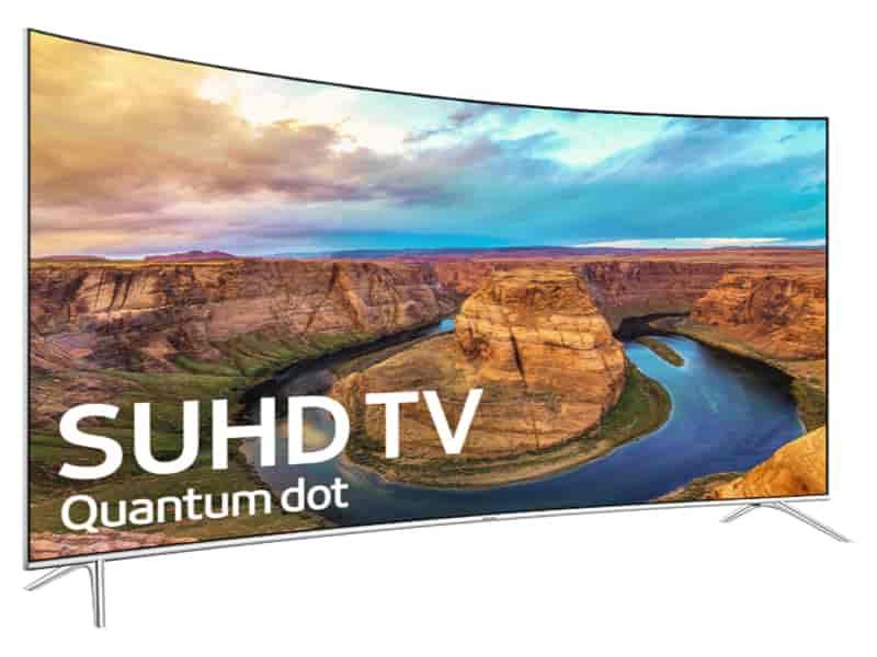 "55"" Class KS8500 Curved 4K SUHD TV"