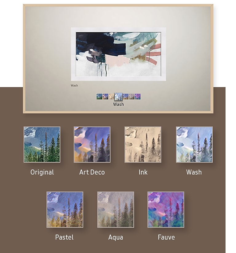 Add artistic filters to your photos