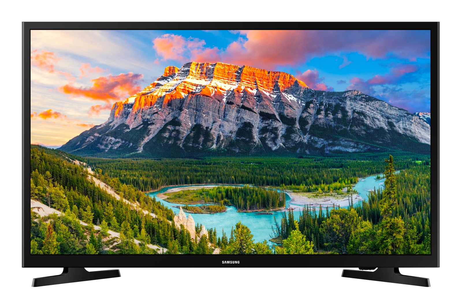 """Samsung 32"""" Class N5300 Smart Full HD TV (2018), GLOSSY BLACK"""