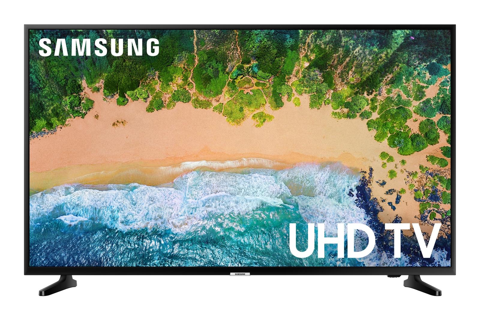"""Samsung 43"""" Class NU6900 Smart 4K UHD TV, CHARCOAL BLACK"""