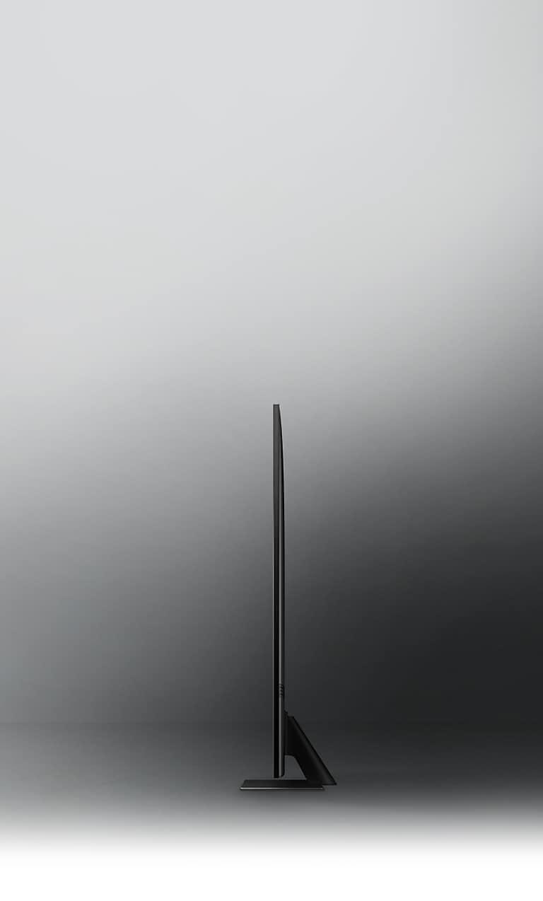 Elegant profile in modern, sleek silhouette