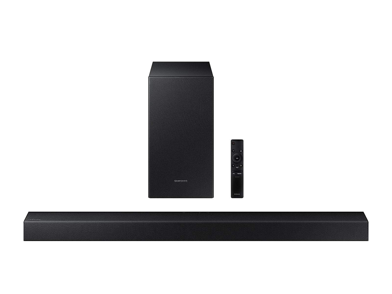 Samsung HW-T450 2.1ch Soundbar w/ Dolby Audio in Black (2020)