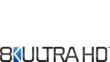 The 8K UHD logo shown on Samsung QLED 8K TV packaging indicates the product meets the Consumer Technology Association's (CTA) definition for 8K televisions.