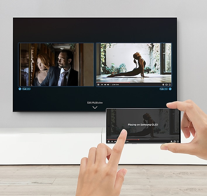 "Samsung 85"" Class Q60T QLED 4K UHD HDR Smart TV 6"