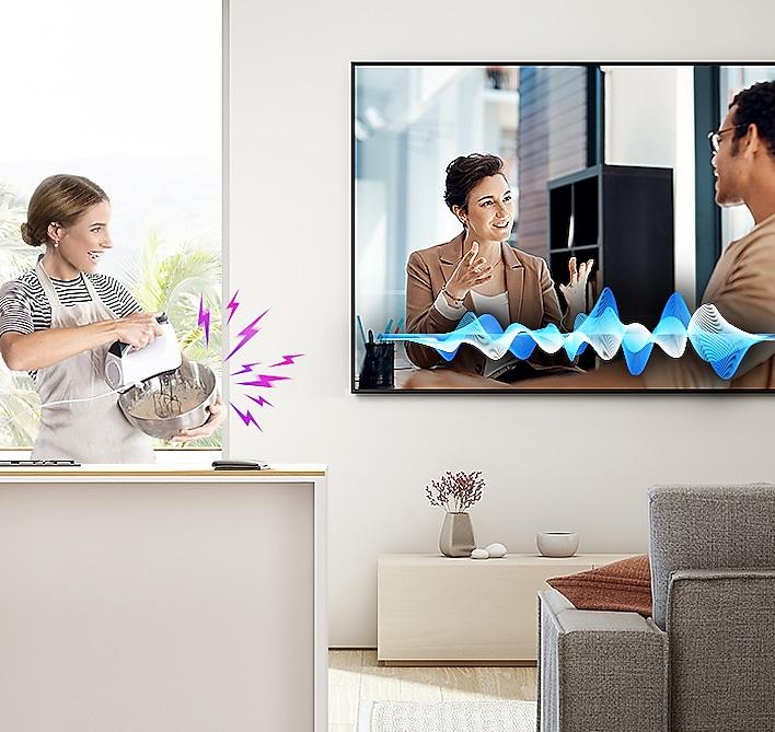 "Samsung 75"" Class Q70T QLED 4K UHD HDR Smart TV 5"