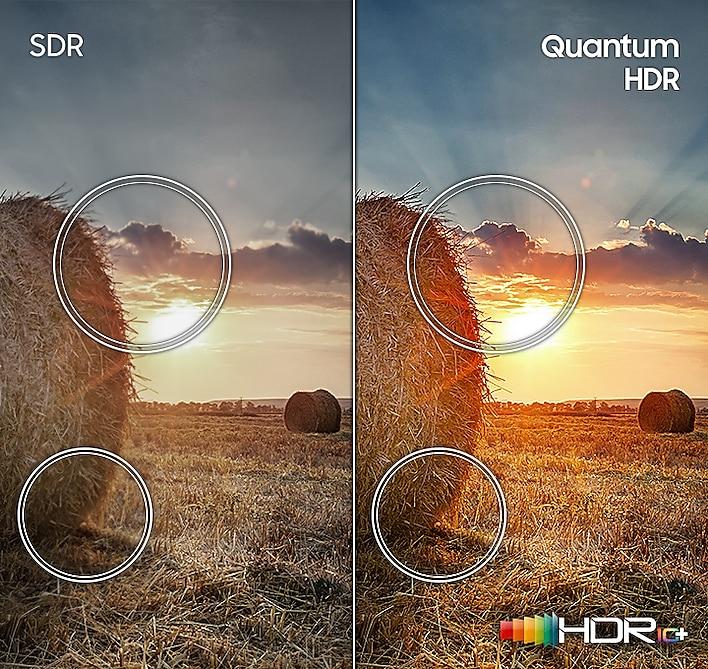 "Samsung 75"" Class Q70T QLED 4K UHD HDR Smart TV 6"