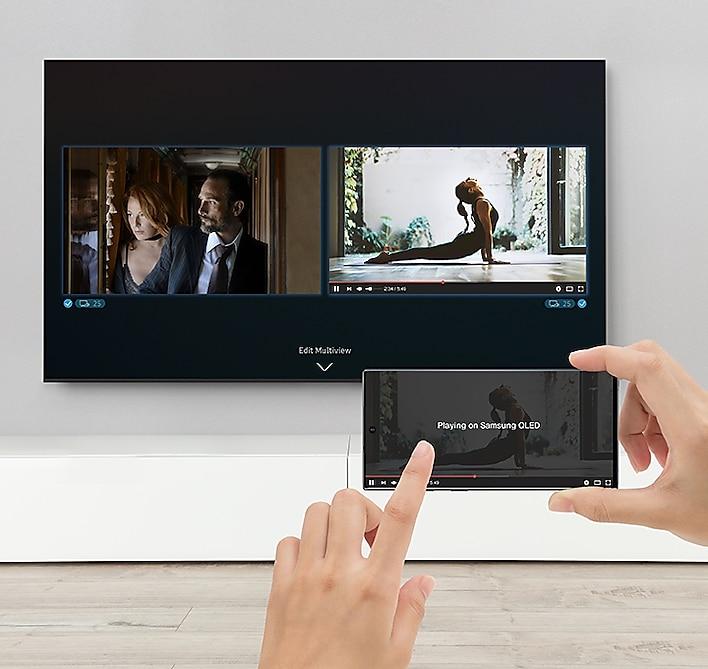 "Samsung 75"" Class Q70T QLED 4K UHD HDR Smart TV 14"